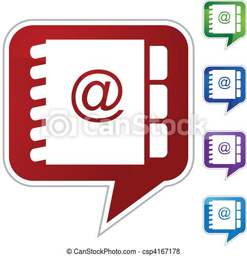 Address Book - csp4167178