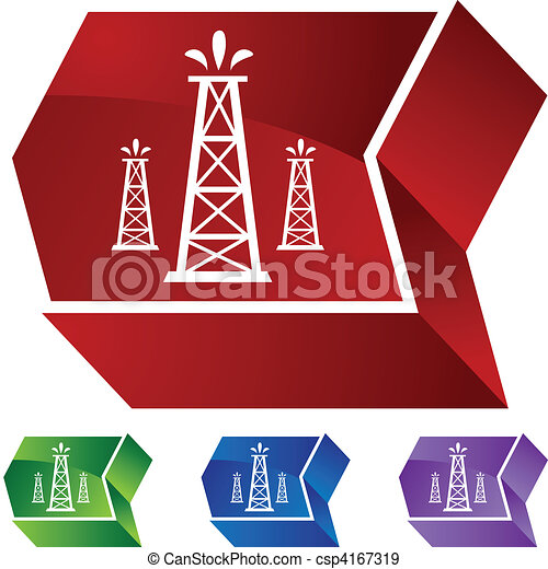 Oil Well - csp4167319