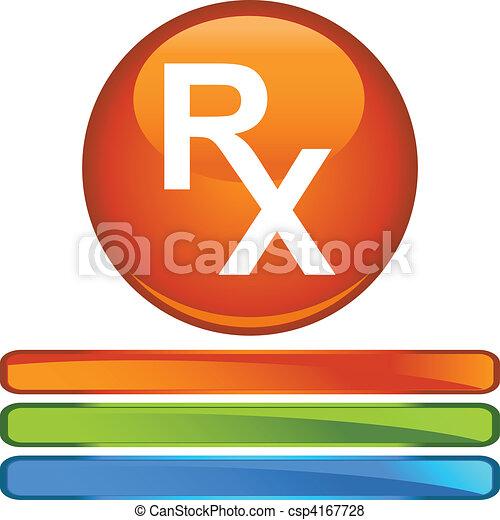 Prescription Symbol - csp4167728