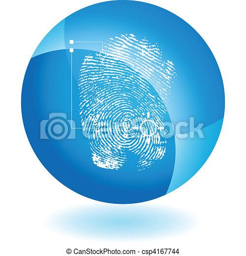 Thumbprint - csp4167744