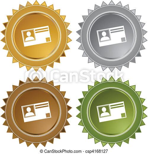 Identification Card - csp4168127
