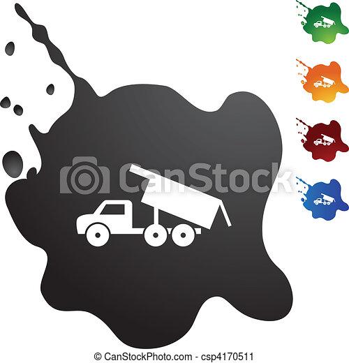 Dump Truck - csp4170511