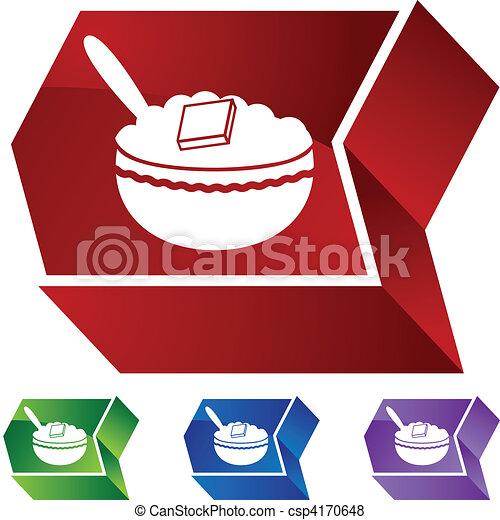 Oatmeal - csp4170648