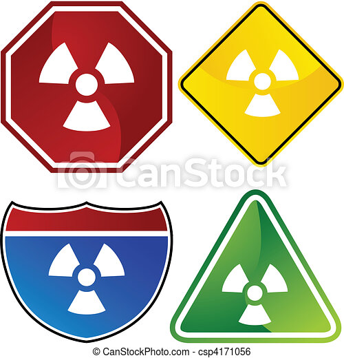 Radioactive Warning - csp4171056