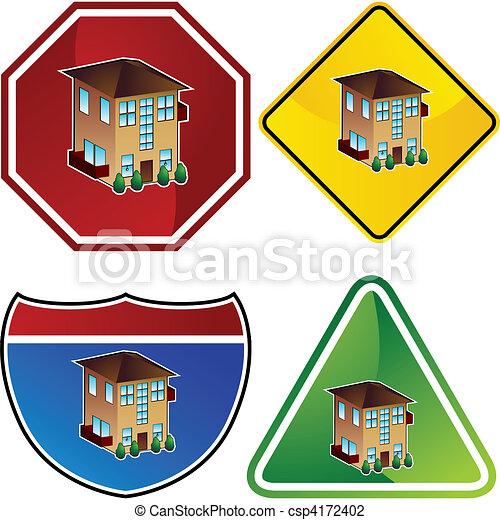 Apartment - csp4172402