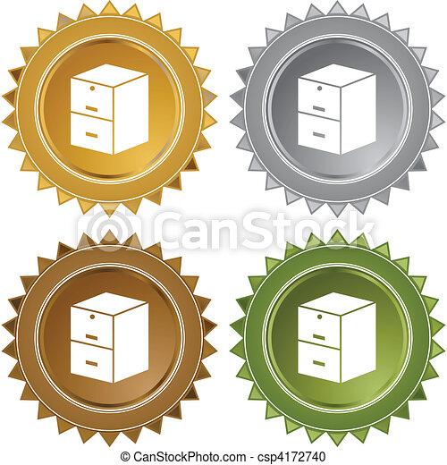 Filing Cabinet - csp4172740