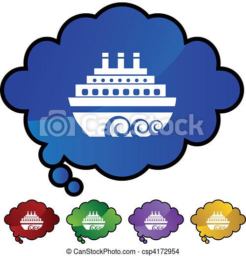 Cruise Ship - csp4172954