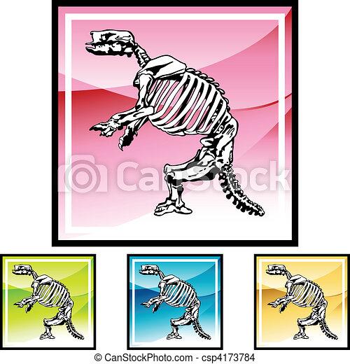 Fossil Bones - csp4173784