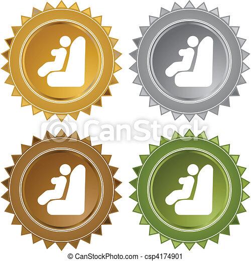 Baby Car Seat - csp4174901