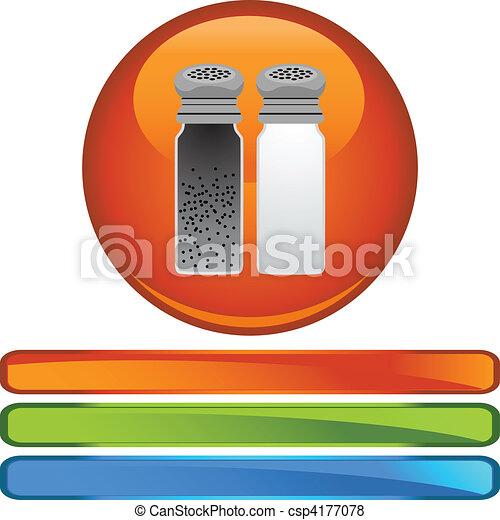 Salt Pepper - csp4177078