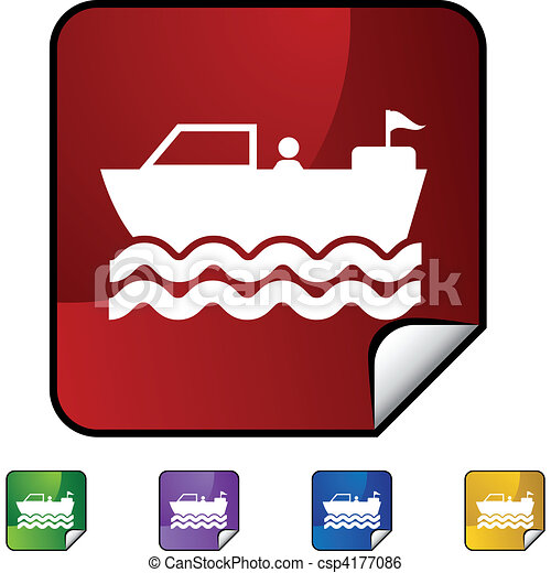 Motor Boat - csp4177086