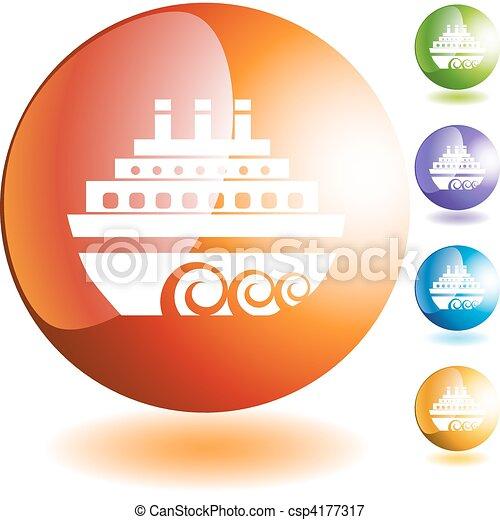 Cruise Ship - csp4177317
