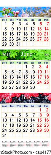 stock illustration von mai bilder juni kalender juli. Black Bedroom Furniture Sets. Home Design Ideas