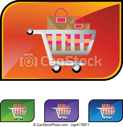 Shopping Cart - csp4178911