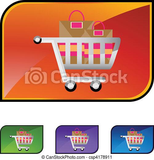 Shopping Cart - csp4178911