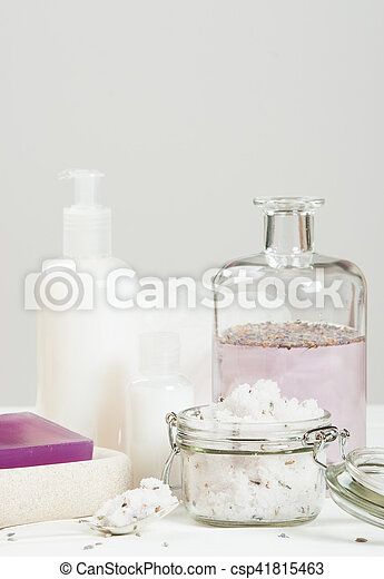 Handmade Lavender Scrub With Coconut Oil. Lavender Tonic. Toiletries, Spa Set