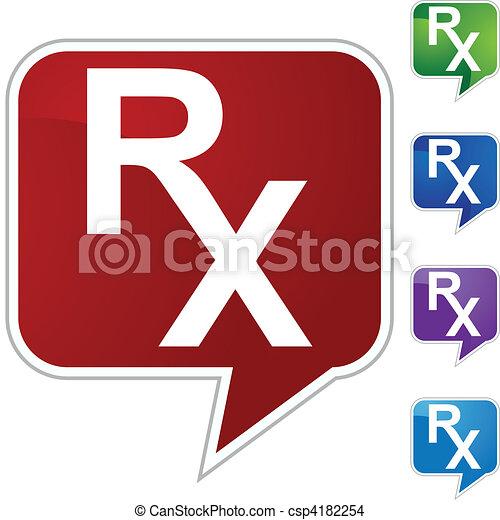 Prescription Symbol - csp4182254