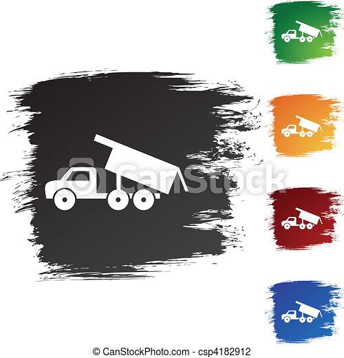 Dump Truck - csp4182912