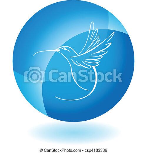 Hummingbird - csp4183336
