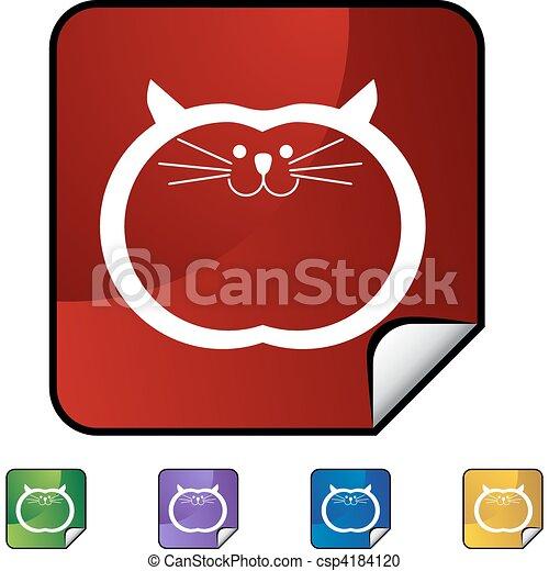 Fat Cat - csp4184120