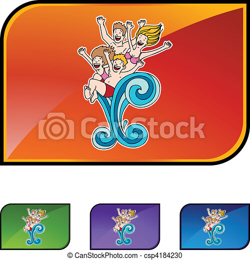 Family Swim - csp4184230