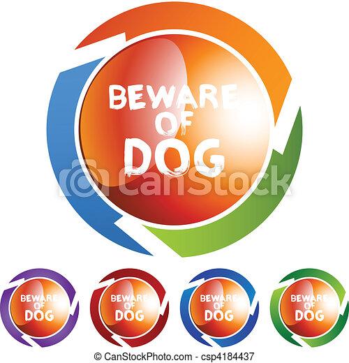 Beware Dog - csp4184437