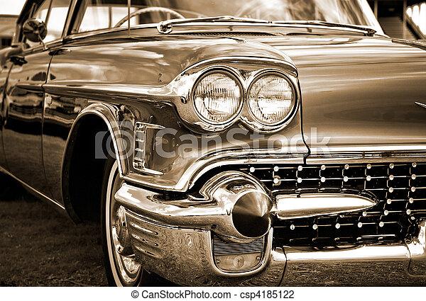 American Classic Caddilac Automobile Car. - csp4185122
