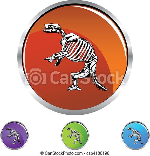 Fossil Bones - csp4186196