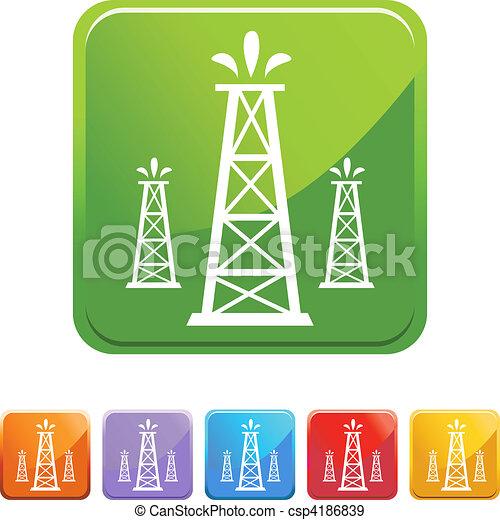 Oil Well - csp4186839