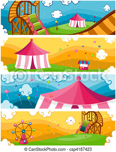 ... Park Designs csp4187423 - Search Clipart, Illustration, and EPS Vector