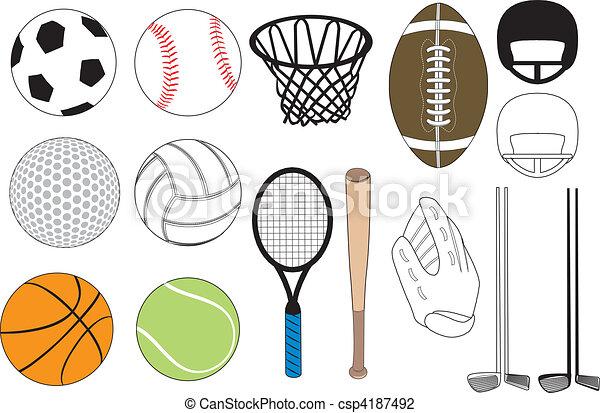 Sports Icons - csp4187492