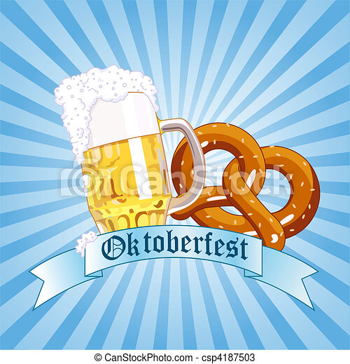 Oktoberfest Celebration - csp4187503