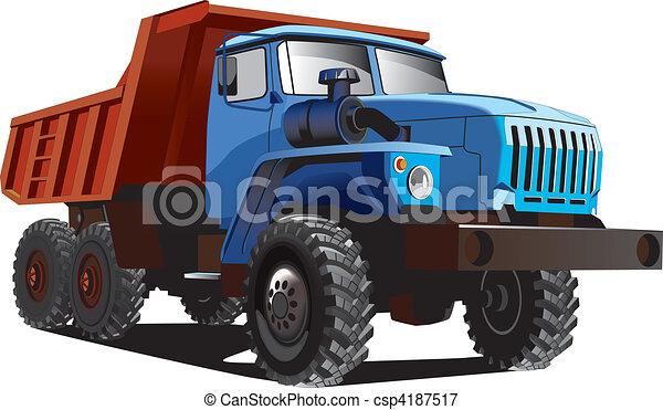 Large Dumper - csp4187517