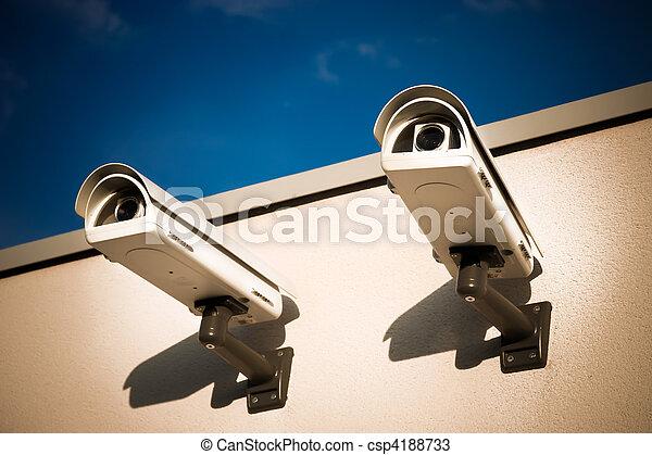 Security video cameras - csp4188733