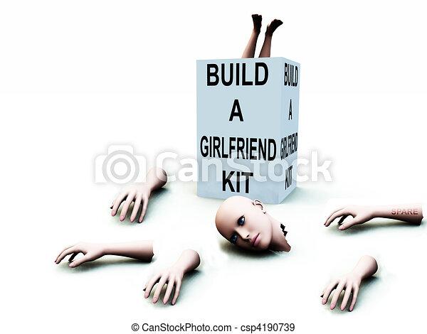 Build A Girlfriend kit - csp4190739