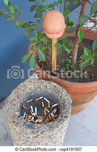 Smoker?s altar - csp4191507