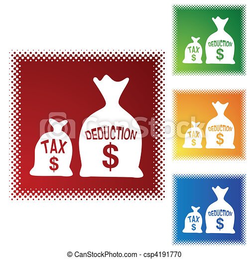 Tax Deduction - csp4191770