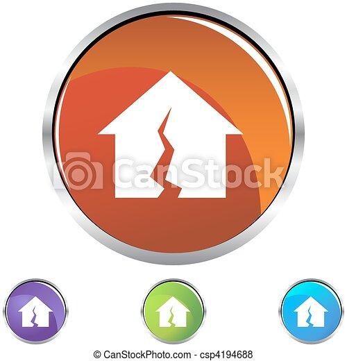 Damaged Home - csp4194688