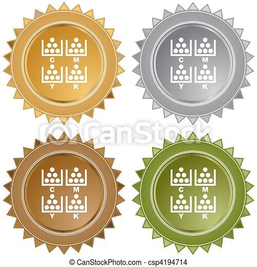 CMYK Printing - csp4194714