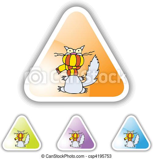 Cold Cat - csp4195753