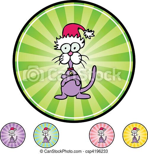 Stubborn Cat - csp4196233