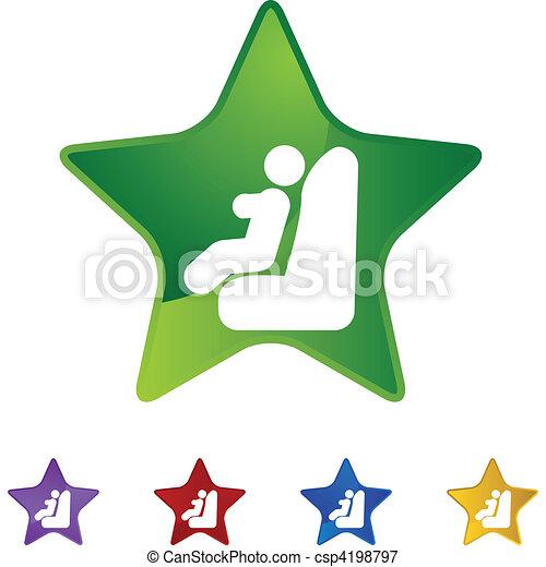 Baby Car Seat - csp4198797