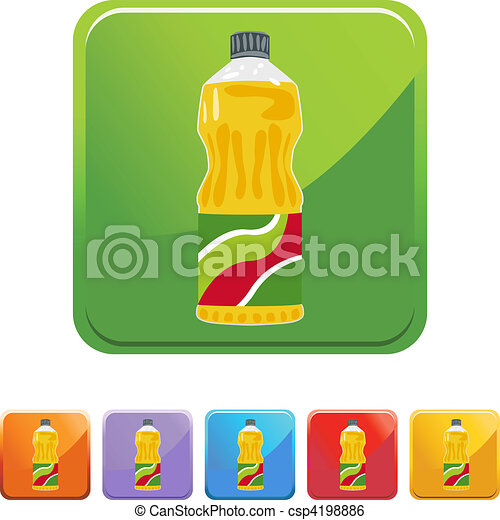 clip art vector of cooking oil csp4198886 search clipart