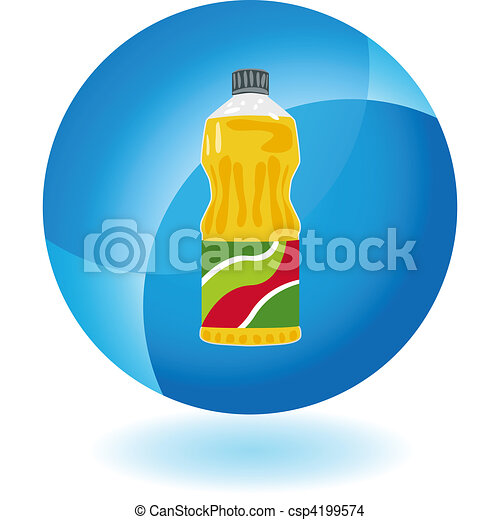 Clip Art Vector of Cooking Oil csp4198886 - Search Clipart ...