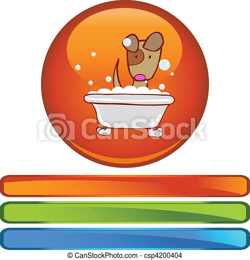 Puppy Bath - csp4200404