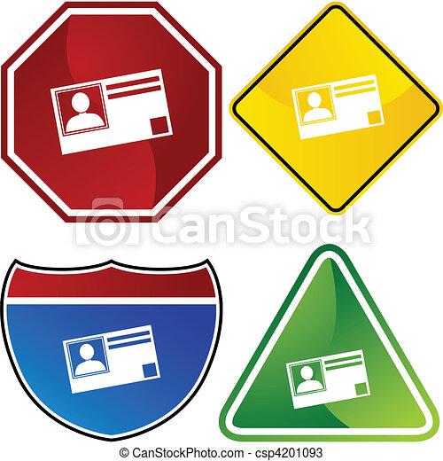 Identification Card - csp4201093