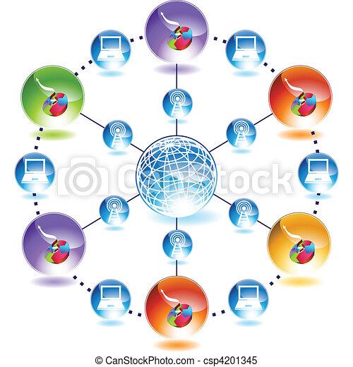 Business Chart - csp4201345
