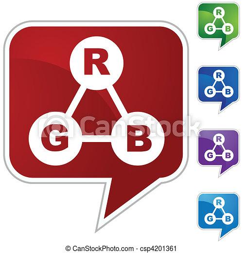 RGB Color Spectrum - csp4201361