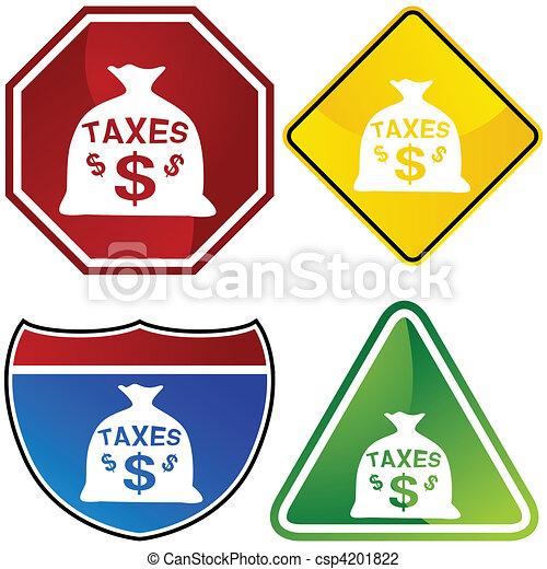 Taxes - csp4201822