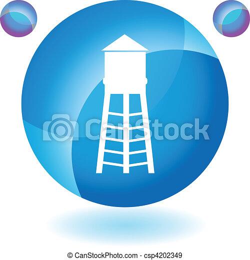 Water Tower - csp4202349